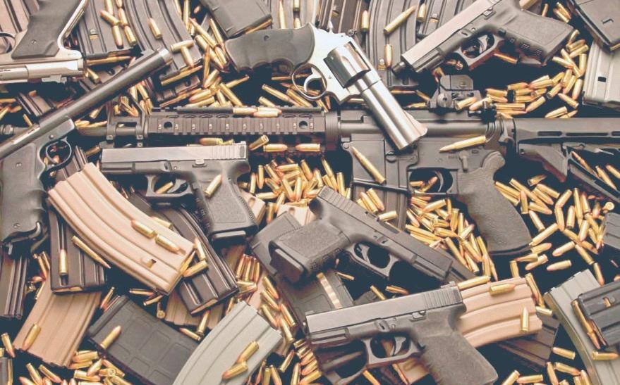 Entran 200 mil armas al país; confiscan el 1%