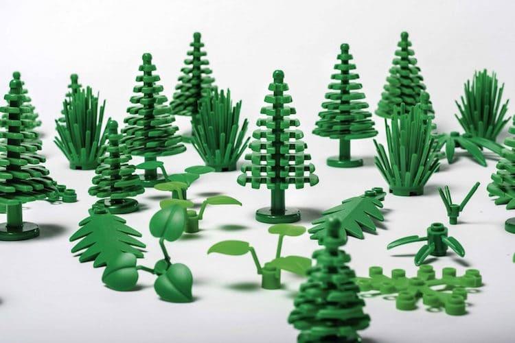 LEGO lanzará juguetes de bioplástico hecho de plantas