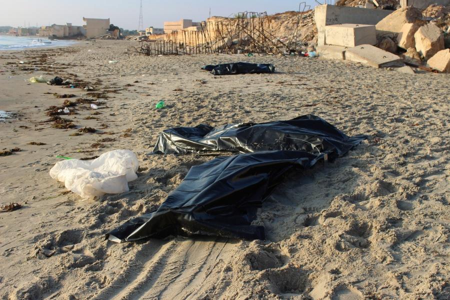 Naufragio en costas libias deja al menos 150 migrantes muertos