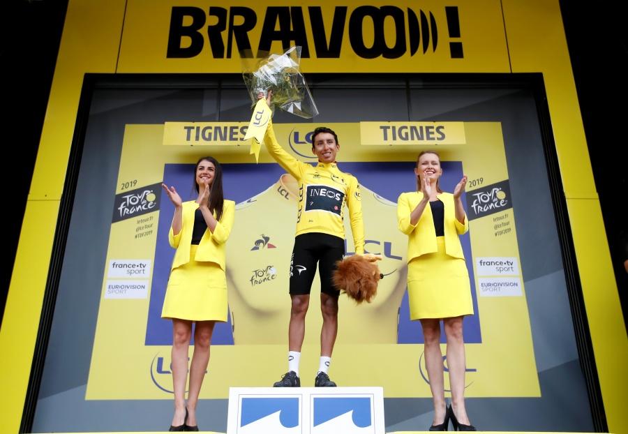 Colombiano Egan Bernal, comanda el Tour de Francia