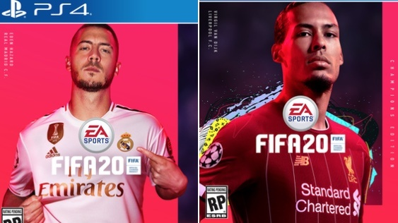 Hazard y Van Dijk, serán la portada del FIFA 20
