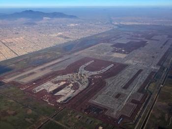 Finiquita gobierno contrato del edificio terminal del NAIM por 14 mil 220 mdp