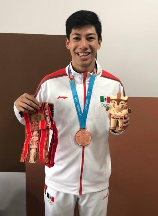 Marco Arroyo se lleva la primera medalla de bronce para México en Lima 2019