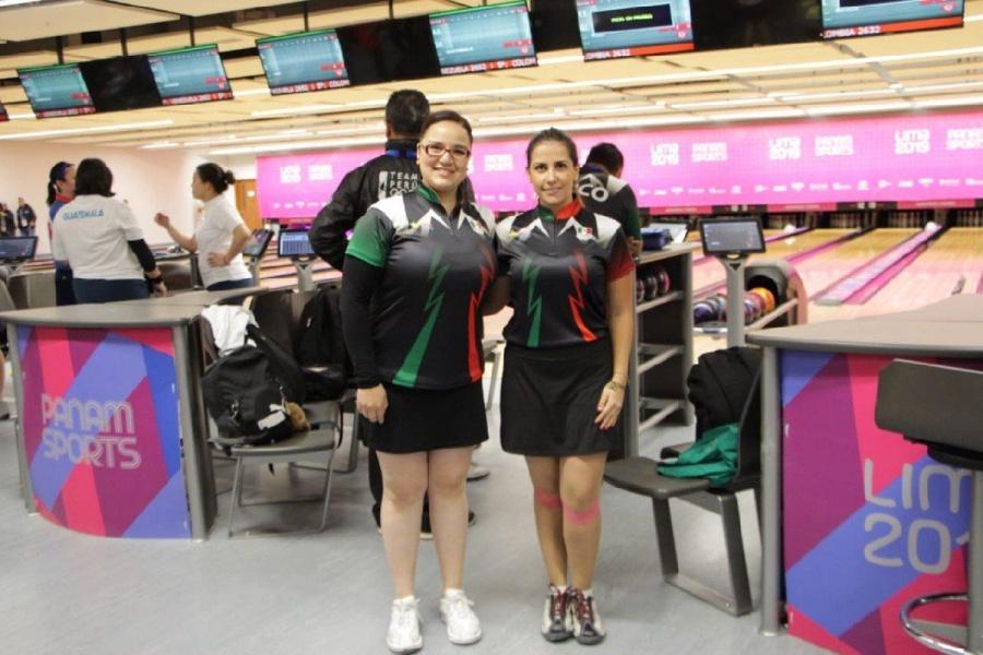 México se lleva plata en Boliche doble femenil