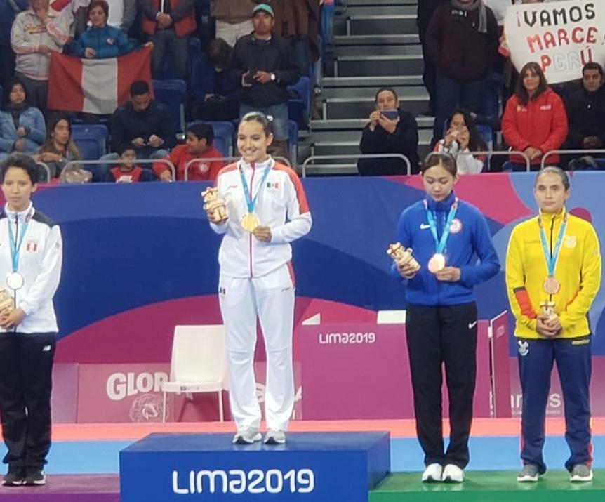 Paula Fregoso gana la primera medalla de oro para México en Lima 2019