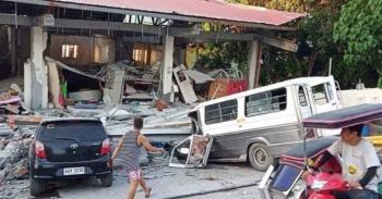Sismos en Filipinas dejan 8 muertos y más de 100 heridos