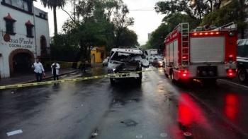 Choque en avenida Baja California deja un muerto