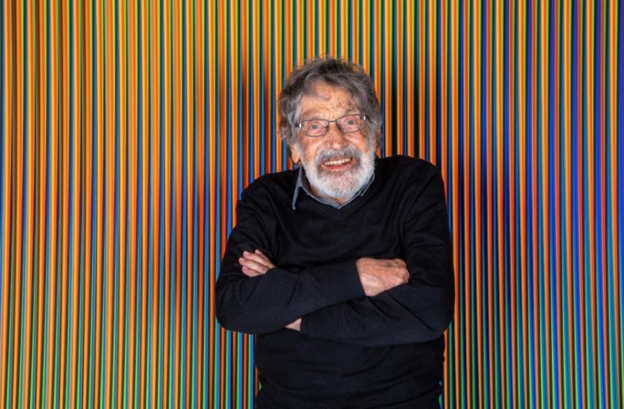 Muere Carlos Cruz-Diez, maestro venezolano del arte cinético