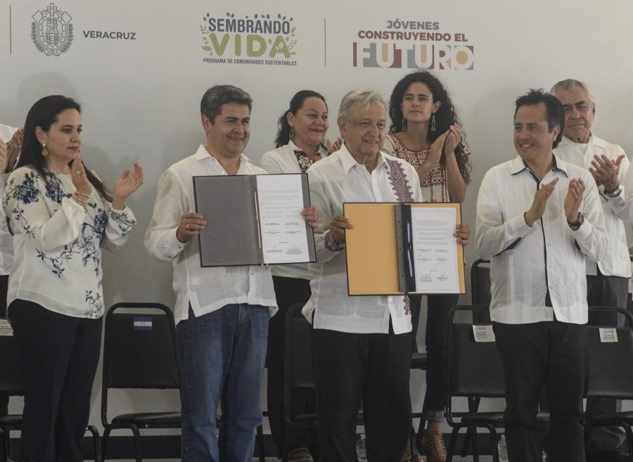 México y Honduras acuerdan cooperación y desarrollo del Plan Integral de Centroamérica