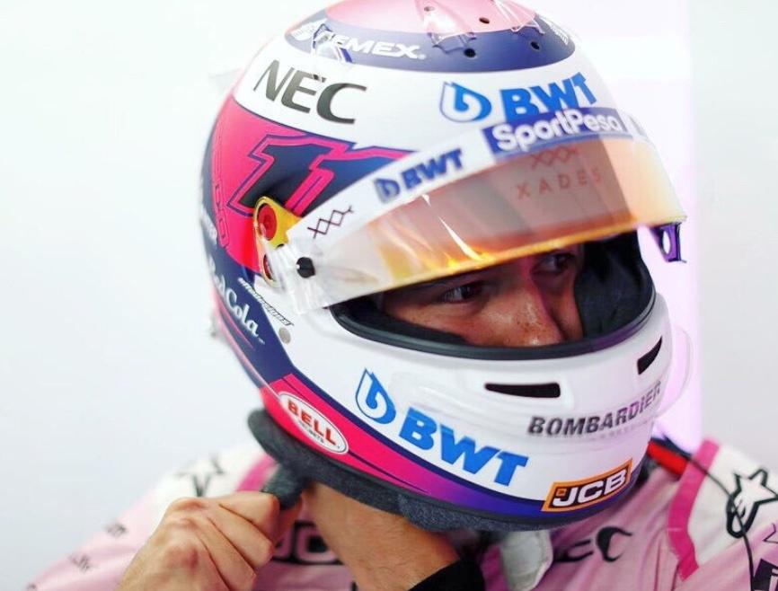 'Checo' Pérez reconoce error propio que causo su salida del GP de Alemania
