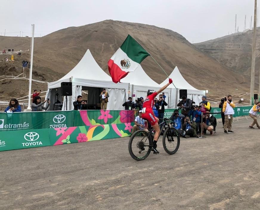 Oro para Daniela Campuzano en el Ciclismo de Montaña de Lima 2019