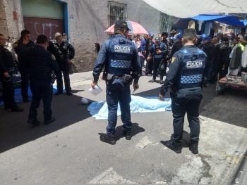 Impactante balacera en el barrio de Tepito