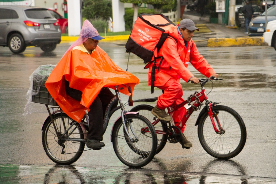 Cielo nublado, chubascos y lluvias fuertes, afectarán a la CDMX