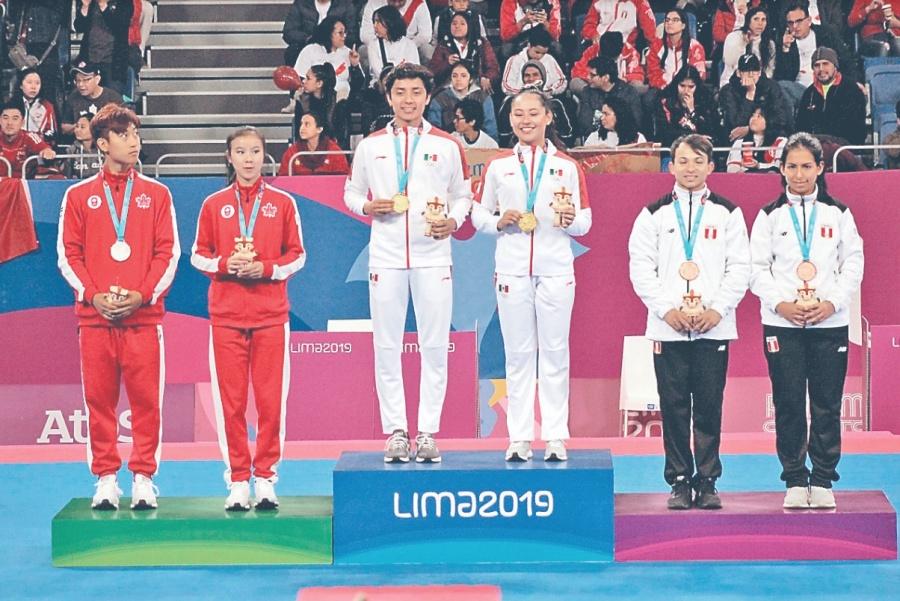 Con 3 oros México se instala en la segunda posición