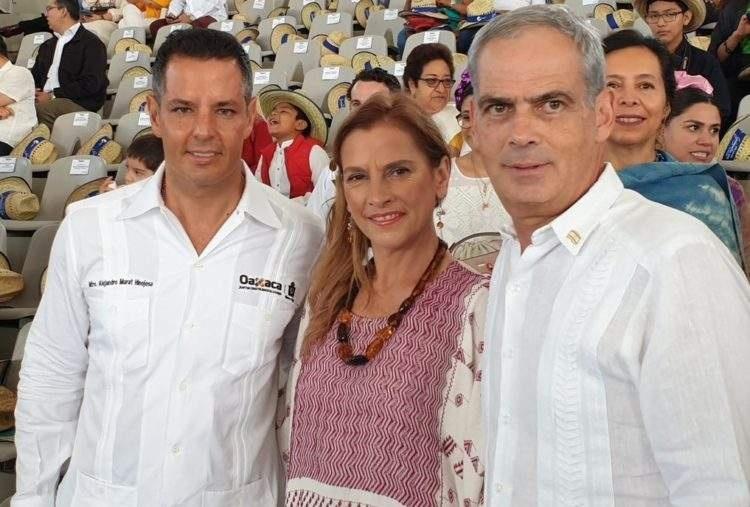 Gutiérrez Muller asiste a la clausura de la Guelaguetza 2019
