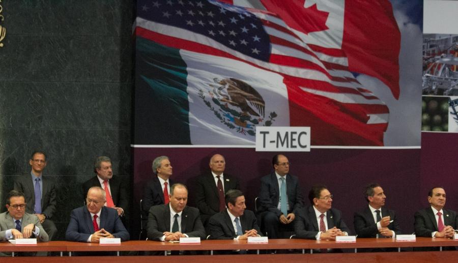 Avalan aprobación de protocolo de sustitución del TLCAN por el T-MEC