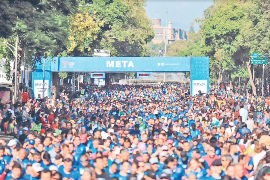 Corredor fallece en Medio Maratón CDMX
