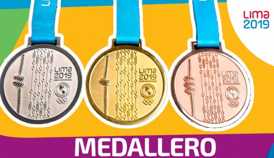 Agrega México cuatro de oro y se mantiene segundo en medallero de Panamericanos 2019