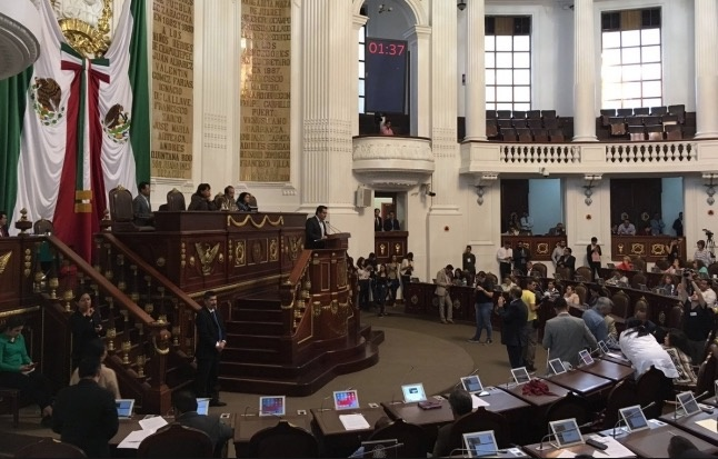 Congreso local endurece penas contra robo, feminicidios...