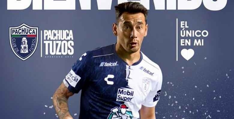 Tuzos del Pachuca contrata a Rubens Sambueza