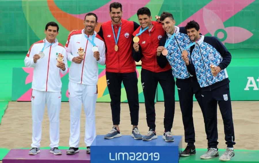 México obtiene la plata en voleibol de playa en los Panamericanos 2019