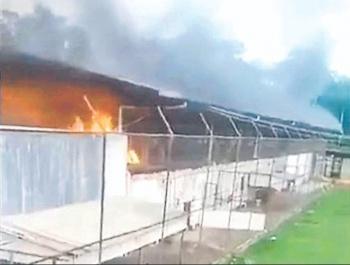 Guerra entre bandas deja 57 presos muertos