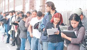 Aumenta desempleo, se pierden 42 mil en junio