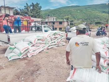 Detectan errores en la entrega de fertilizante