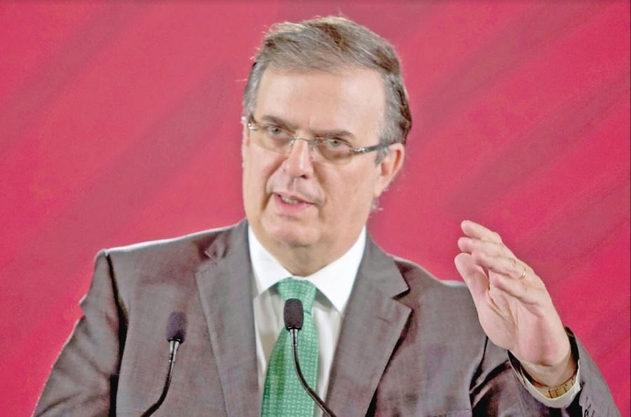 Afirma Ebrard que baja 40% el flujo migratorio