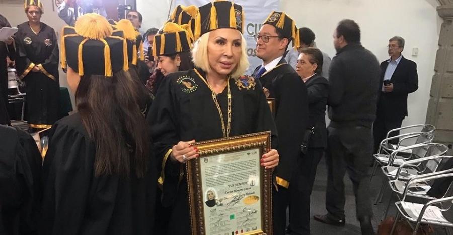Laura Bozzo considera ignorantes a quienes criticaron su Honoris Causa