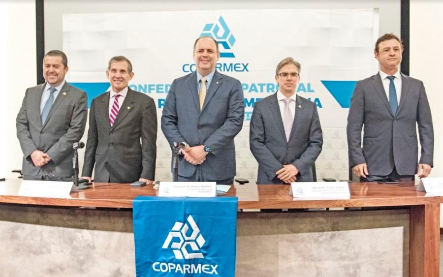 Coparmex ve con recelo la legislación