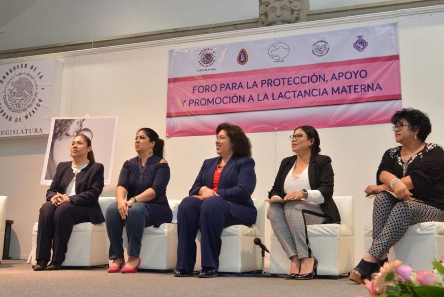 Congreso CDMX busca castigar incumplimientos en lactancia materna