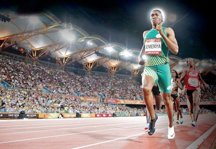 Prohíben a Caster Semenya defender su título en Mundial