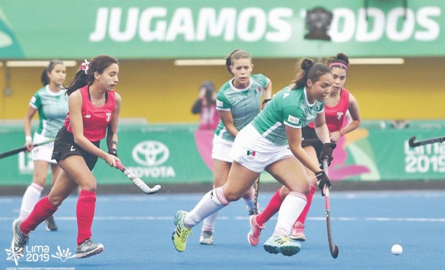 En Hockey de pasto aztecas derrotan a las anfitrionas