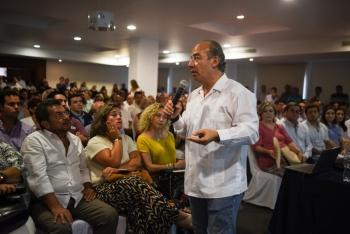 Revira Calderón a AMLO, le pide hacerse responsable de su gobierno