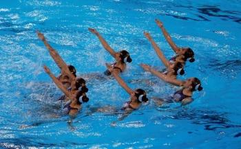 Equipo mexicano de natación artística gana plata en Lima 2019