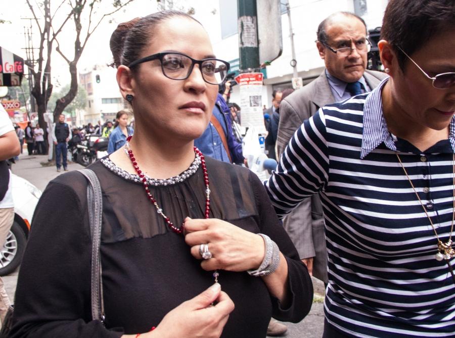Se deslinda madre de Norberto Ronquillo de declaraciones de su esposo