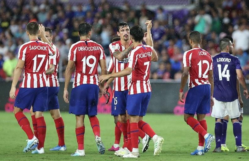 Atléticos de Madrid y de San Luis se enfrentan este sábado