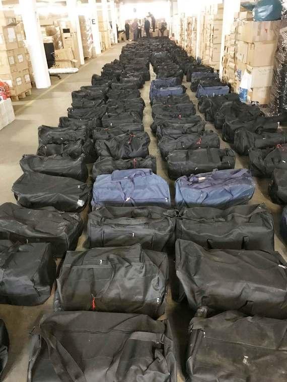 Encuentran en Alemania 4 mil 500 kilos de cocaína en un contenedor procedente de Uruguay