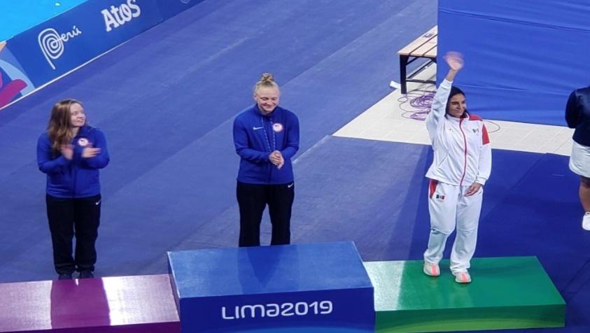 Paola Espinosa obtiene medalla de bronce en trampolín de un metro