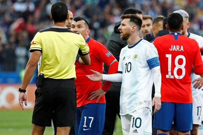 Messi recibe tres meses de suspensión por acusaciones contra la Conmebol