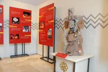 Exhiben por primera vez piezas de Cuicuilco en museo de Tlalpan