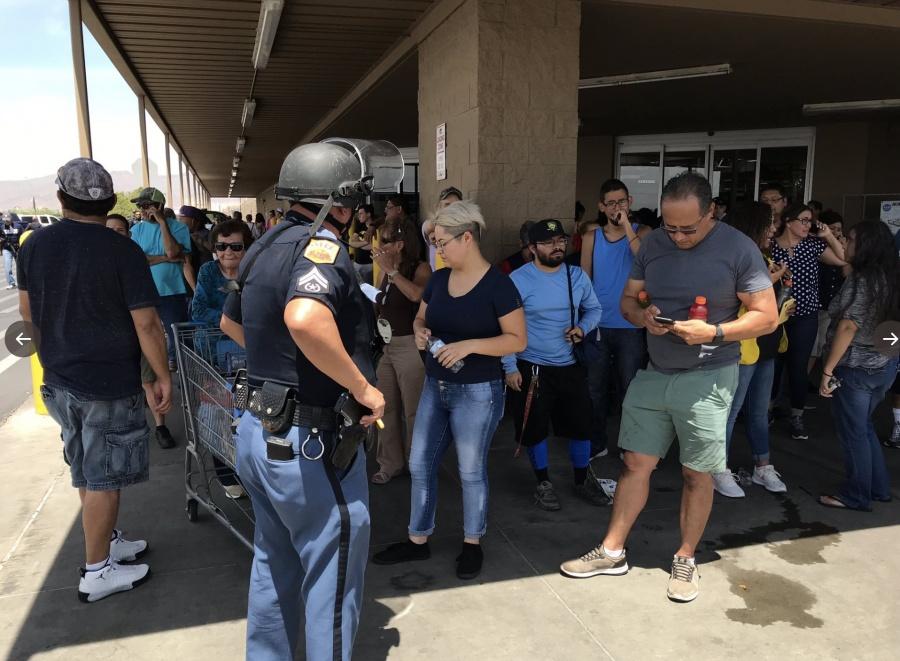 Se registra tiroteo en tienda Walmart de El Paso, Texas