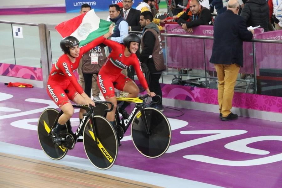 Ciclistas mexicanas van por segunda medalla en Lima