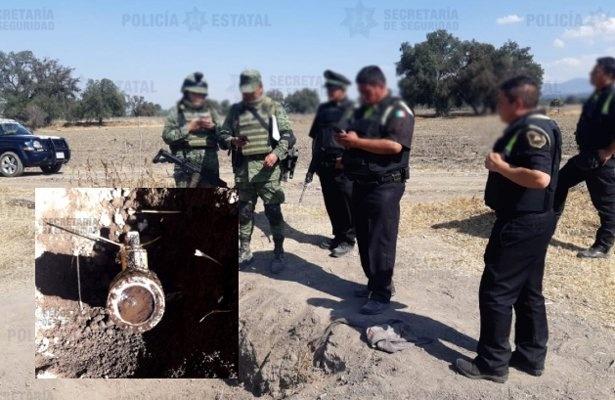 Clausuran una toma clandestina en San Martín de las Pirámides