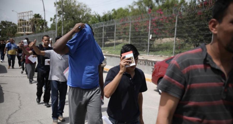 México rompe récord de devolución de migrantes centroamericanos OIM