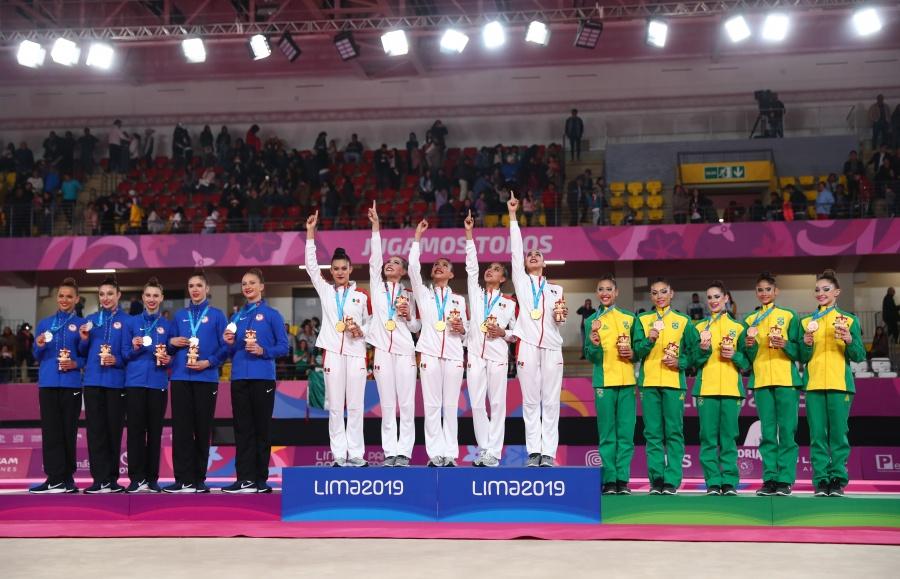 México hace historia en gimnasia rítmica al conseguir el oro