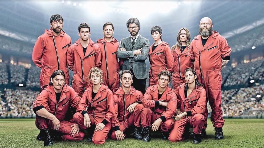 La Casa De Papel hace historia y se vuelve la serie hispana más vista del mundo