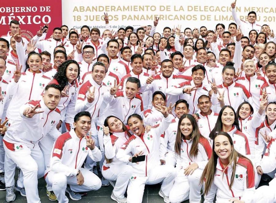 Dará Gobierno becas a deportistas destacados en Juegos Panamericanos