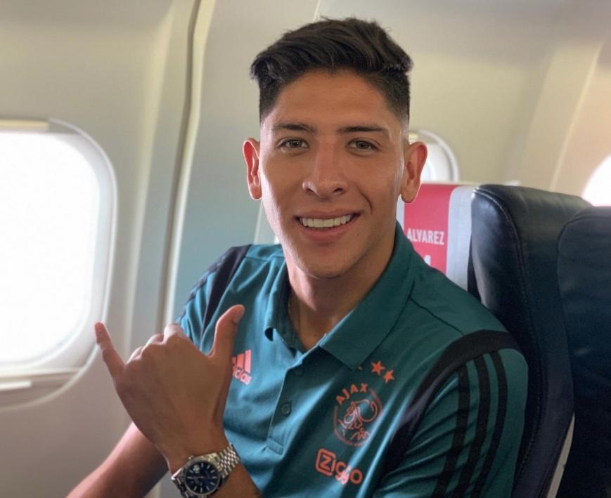 Edson Álvarez, convocado por el Ajax para medirse al PAOK en la Champions